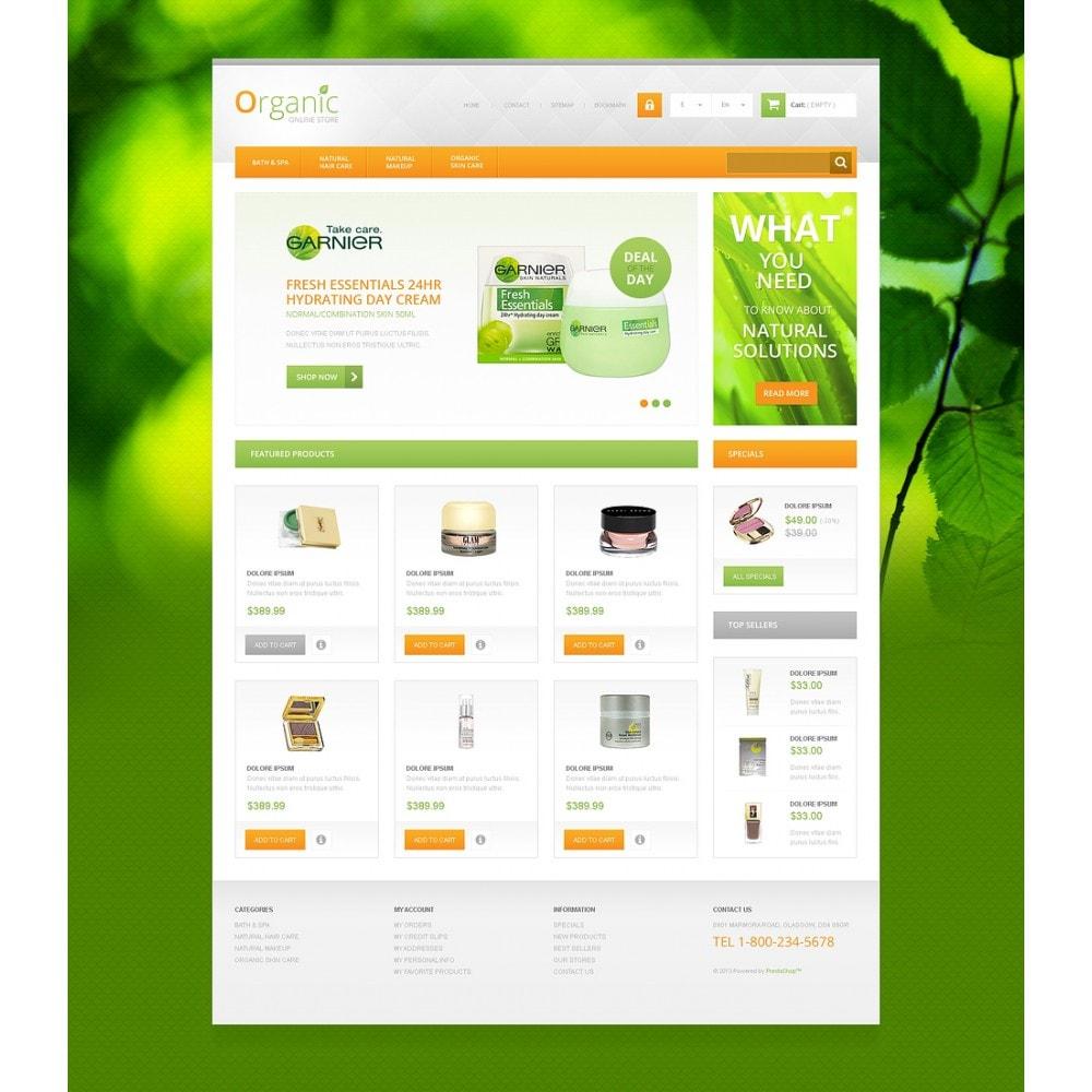 Organic Cosmetics Store