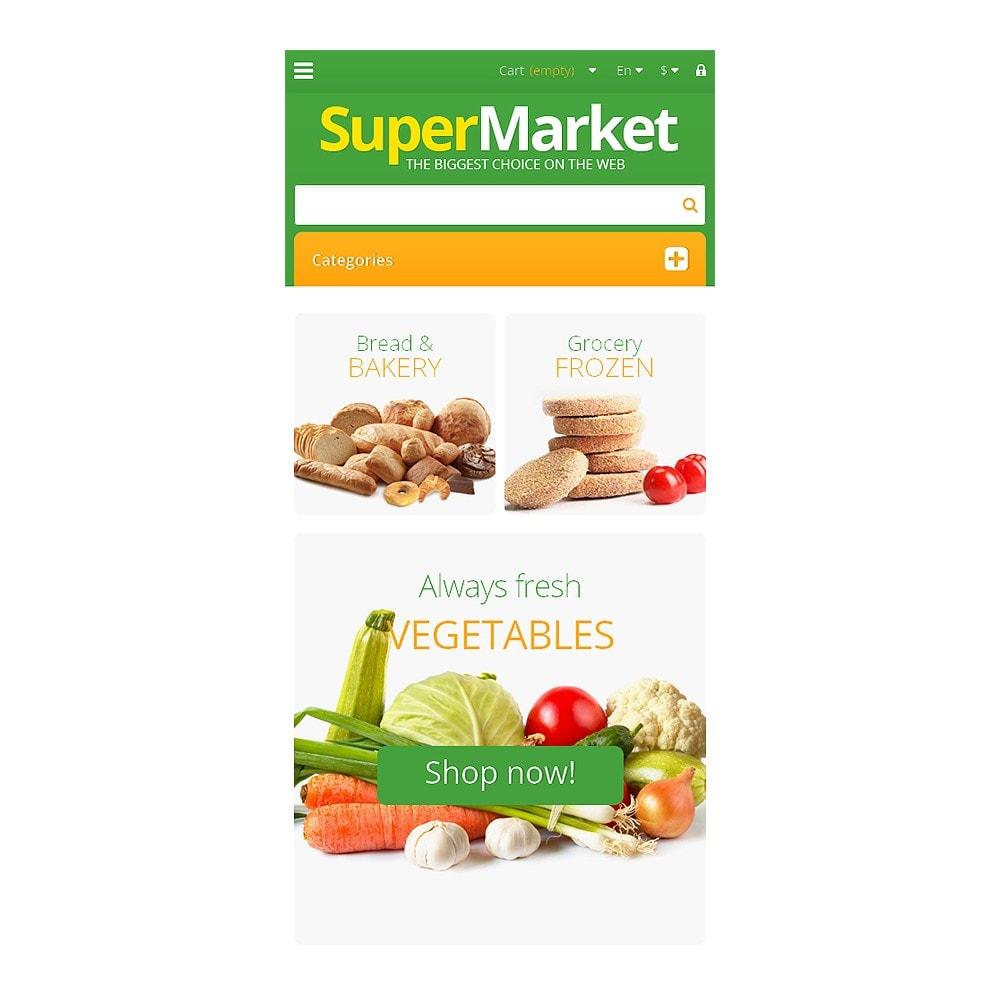 theme - Продовольствие и рестораны - Responsive Supermarket - 8