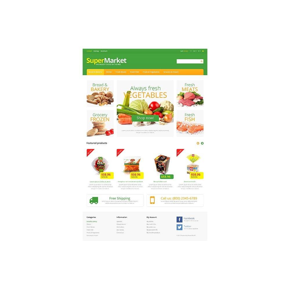theme - Lebensmittel & Restaurants - Responsive Supermarket - 10