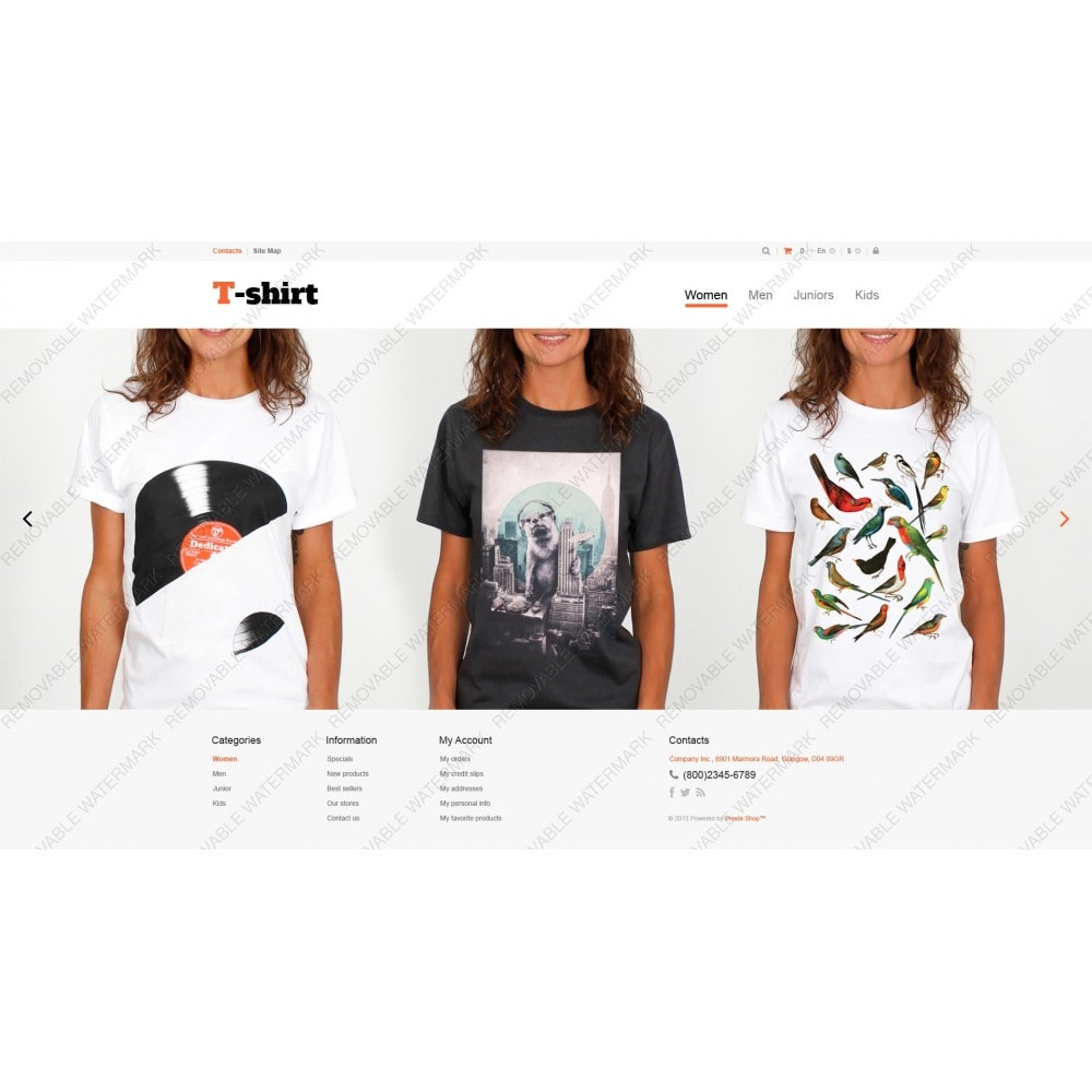 theme - Moda & Calzature - Multipurpose TShirts - 5
