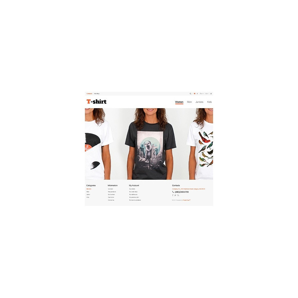 theme - Moda & Calzature - Multipurpose TShirts - 10