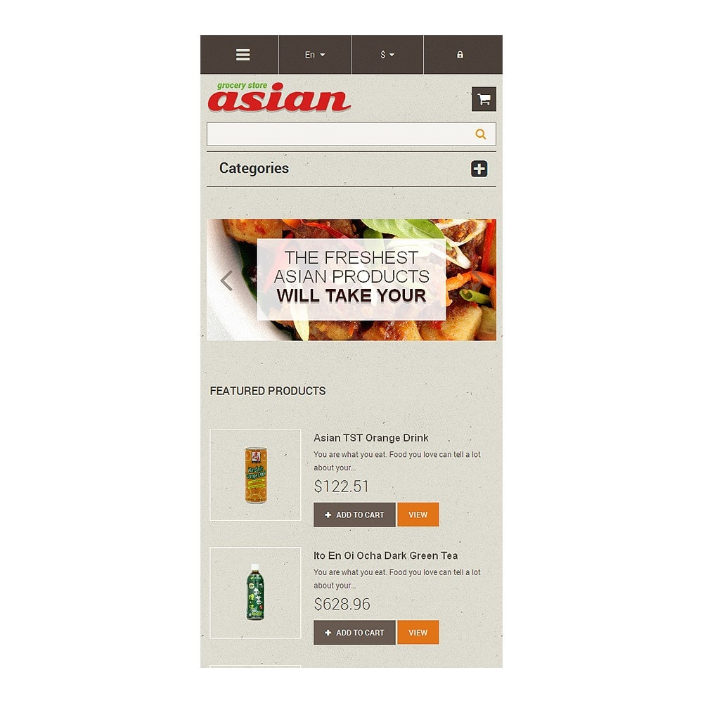 theme - Food & Restaurant - Asian Grocery - 8