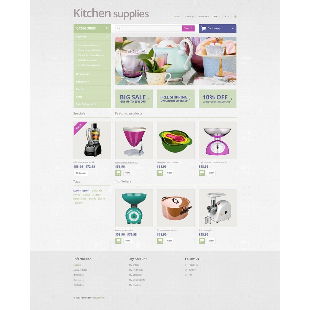 theme - Art & Culture - Online Grocery Store - 2