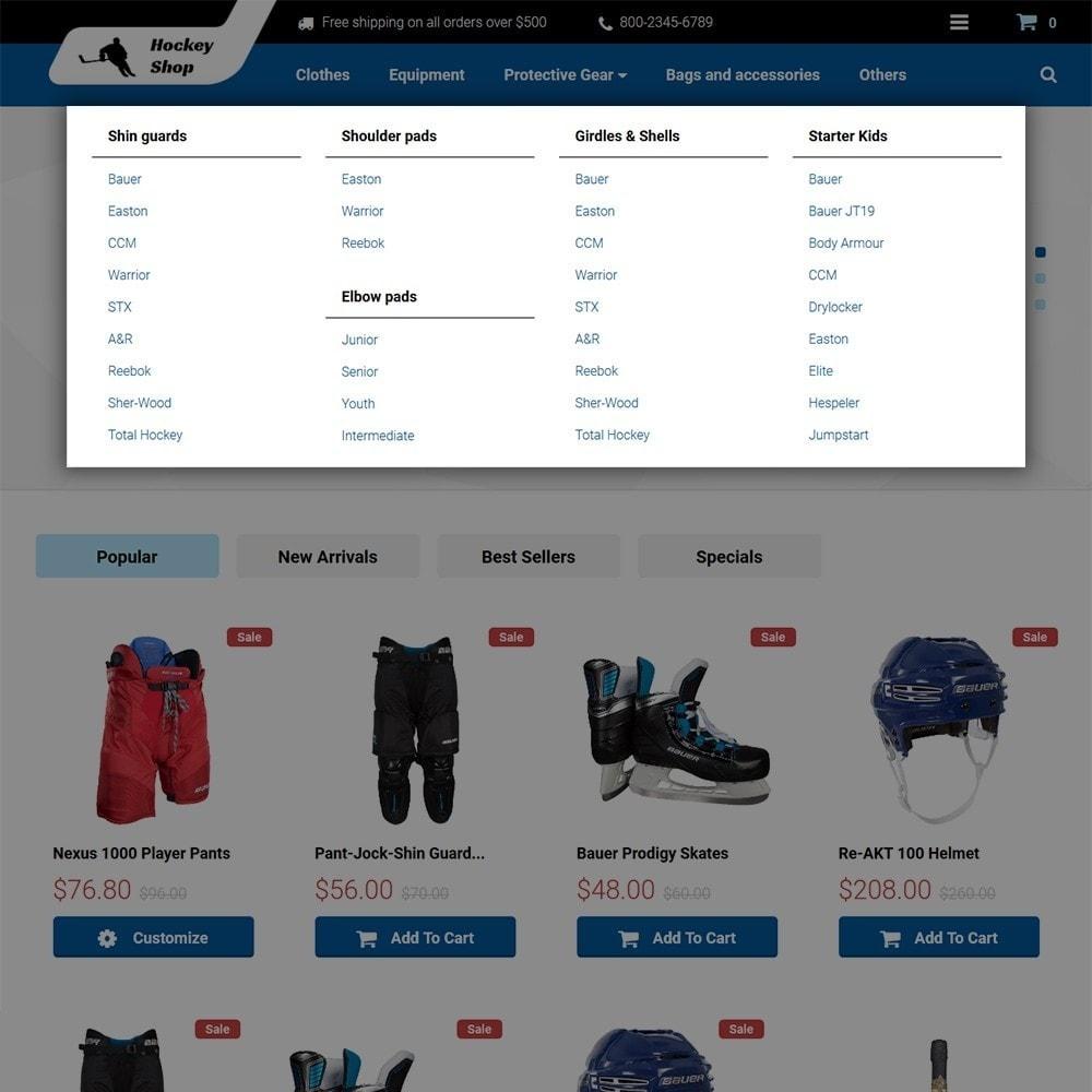 theme - Sport, Aktivitäten & Reise - Hockey Shop - 3