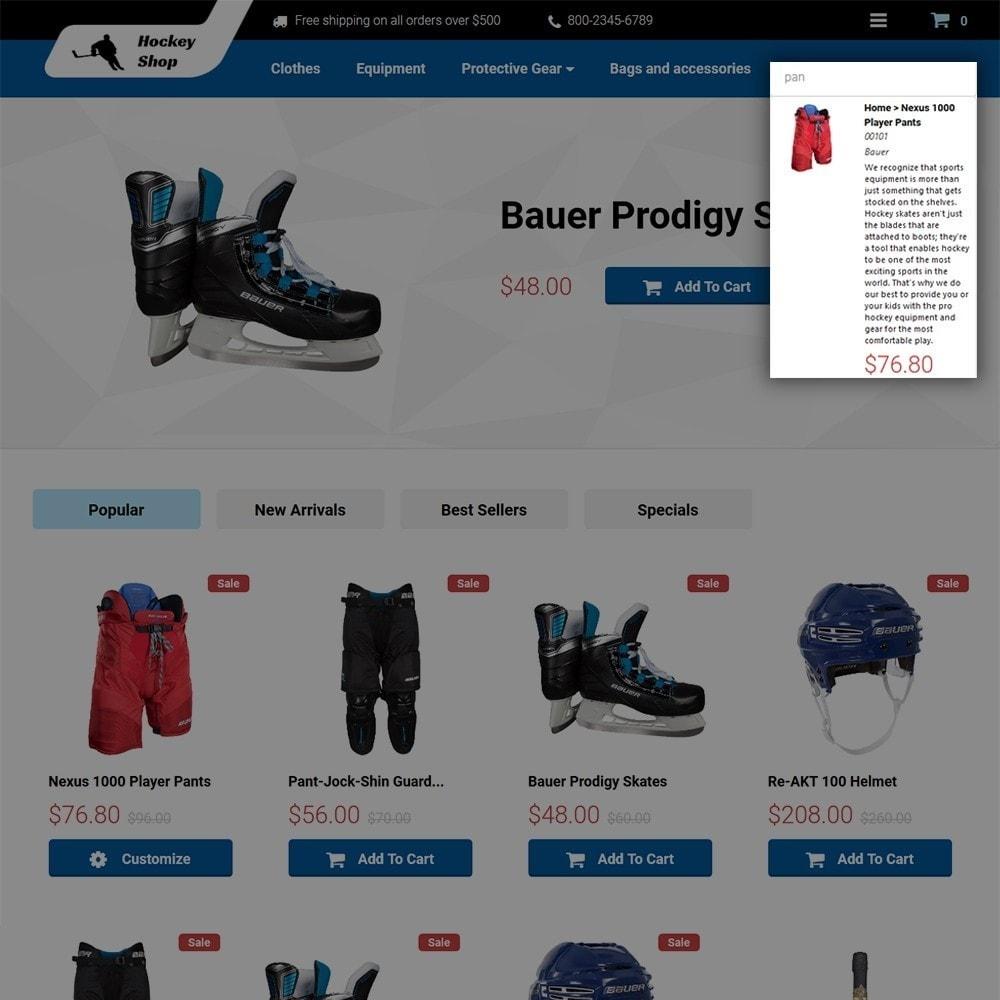 theme - Sport, Aktivitäten & Reise - Hockey Shop - 5