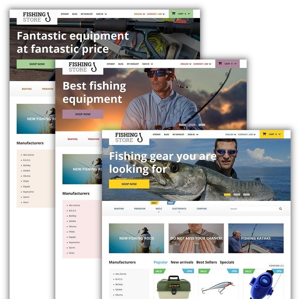 theme - Sport, Attività & Viaggi - Fishing Store - 2