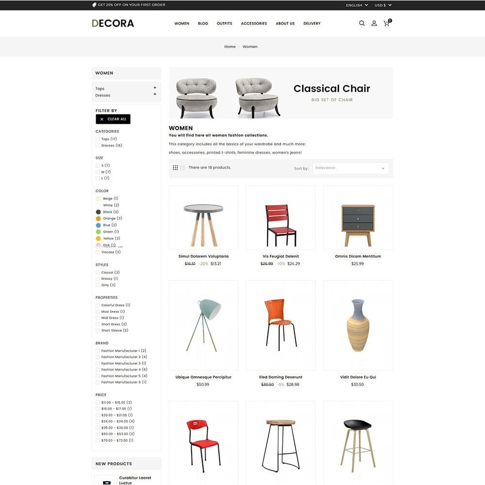 theme - Maison & Jardin - Decora Furniture Store - 4