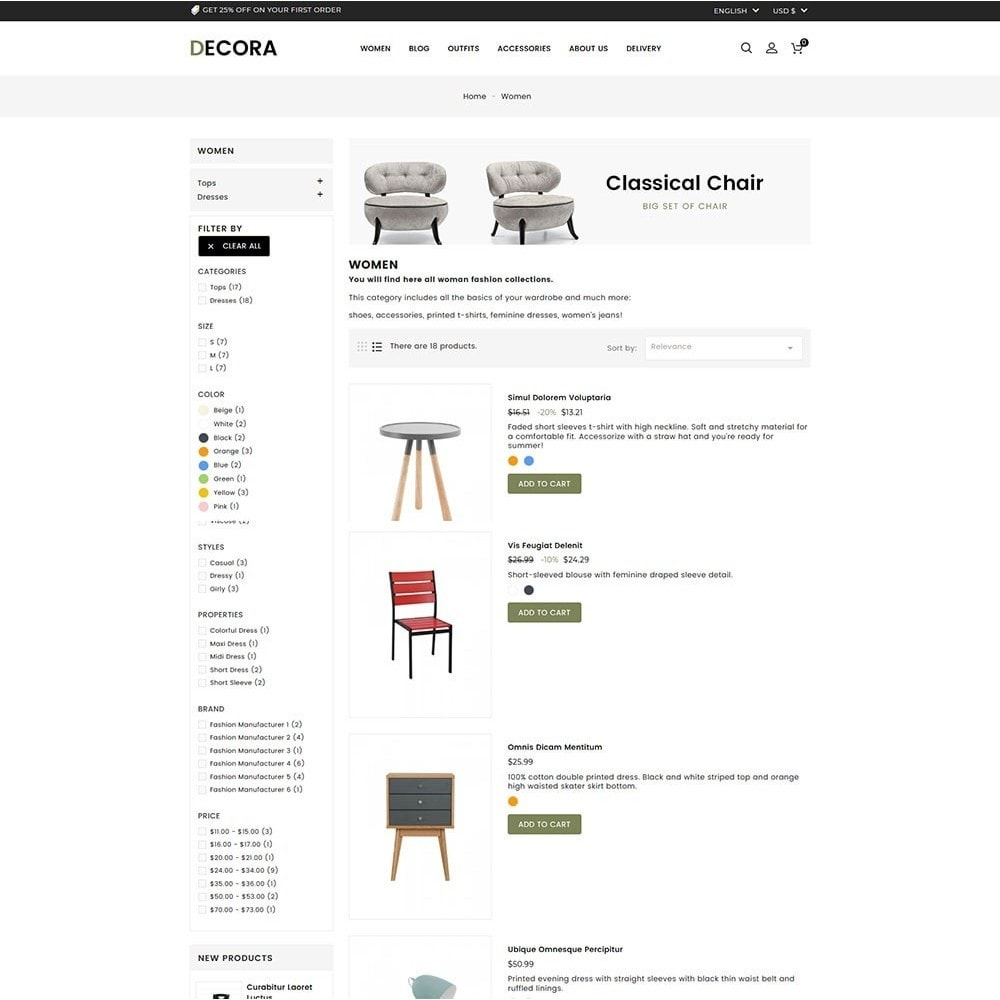 theme - Maison & Jardin - Decora Furniture Store - 5
