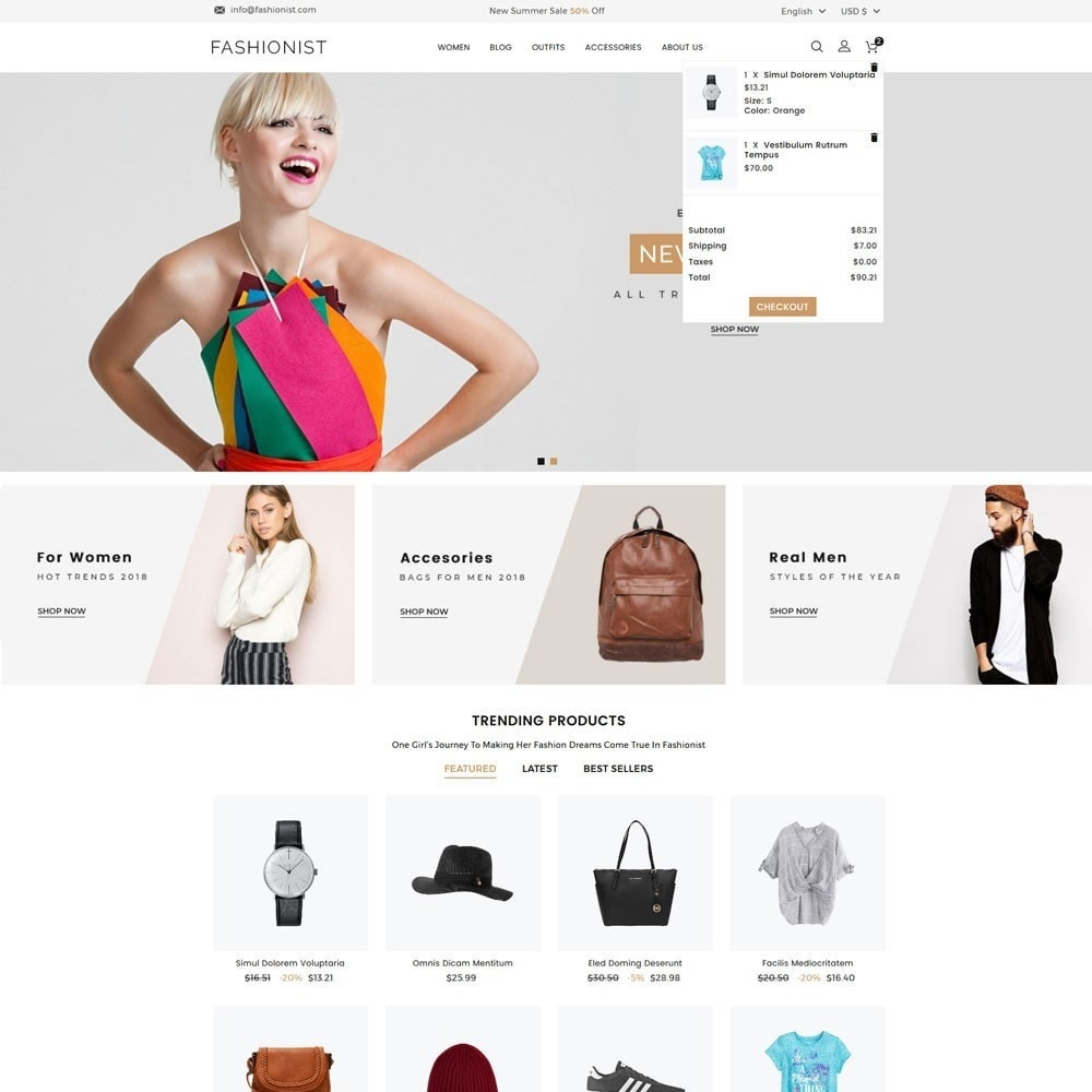 Fashionist Fashion Store