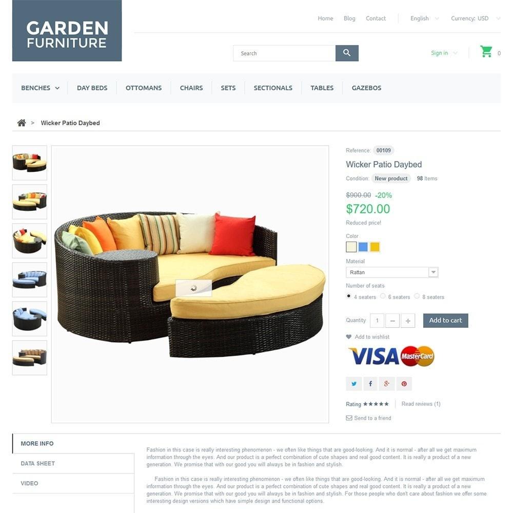 theme - Искусство и Культура - Garden Furniture - 3