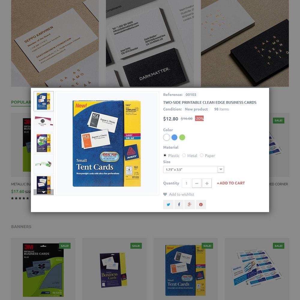 theme - Hogar y Jardín - Business Card - 4