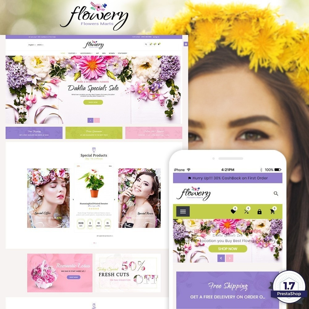 Flowery - Flower and Decore Super Store