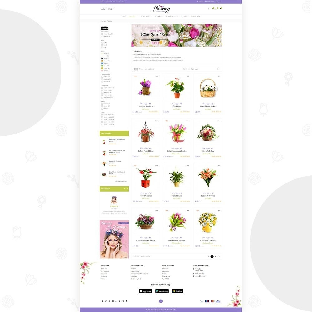 Flowery – Flower and Decore Super Store
