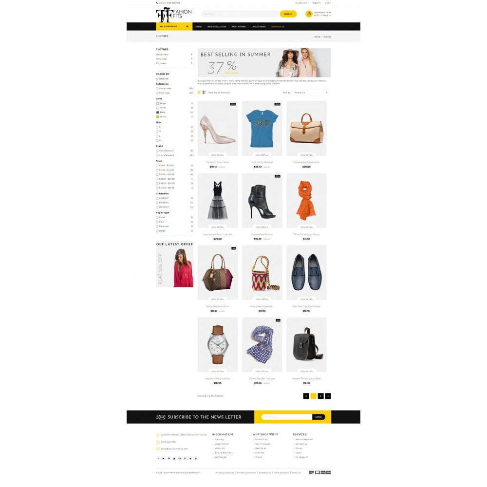 Fashion Fits Online Store