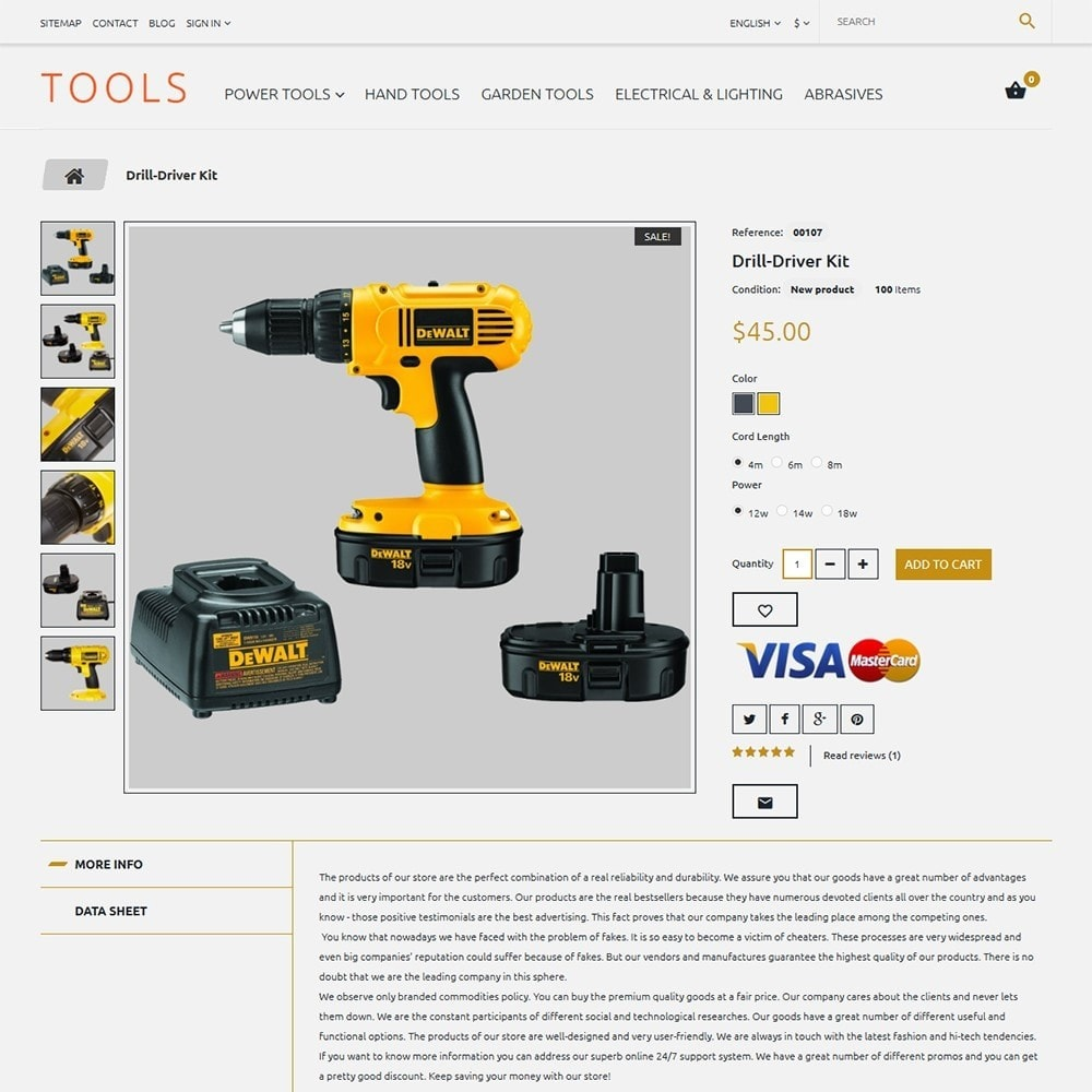 Tools - Tools & Equipment