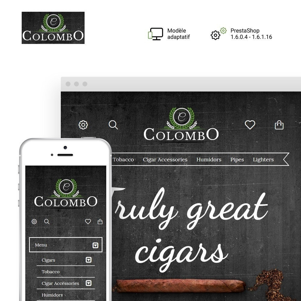 theme - Maison & Jardin - Colombo - Tobacco & Sigars Store - 1