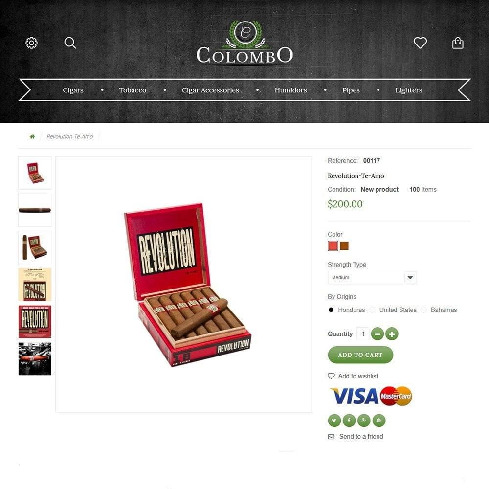 theme - Дом и сад - Colombo - Tobacco & Sigars Store - 3