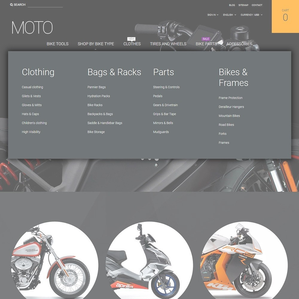 theme - Auto & Moto - Moto - Bike Shop - 4