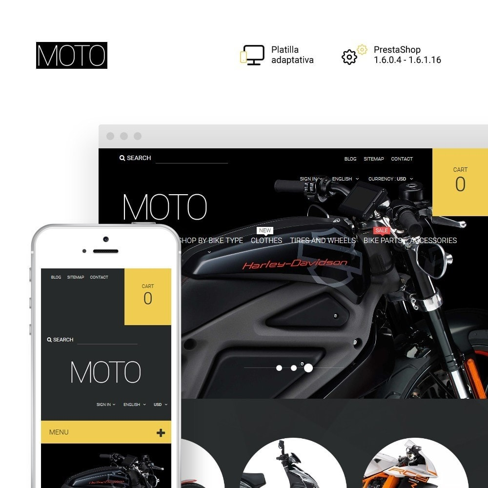 theme - Coches y Motos - Moto - Bike Shop - 1