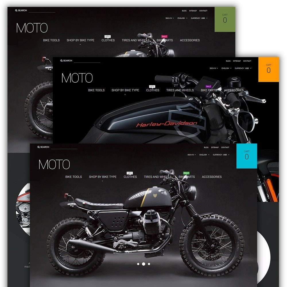 Moto - Bike Shop