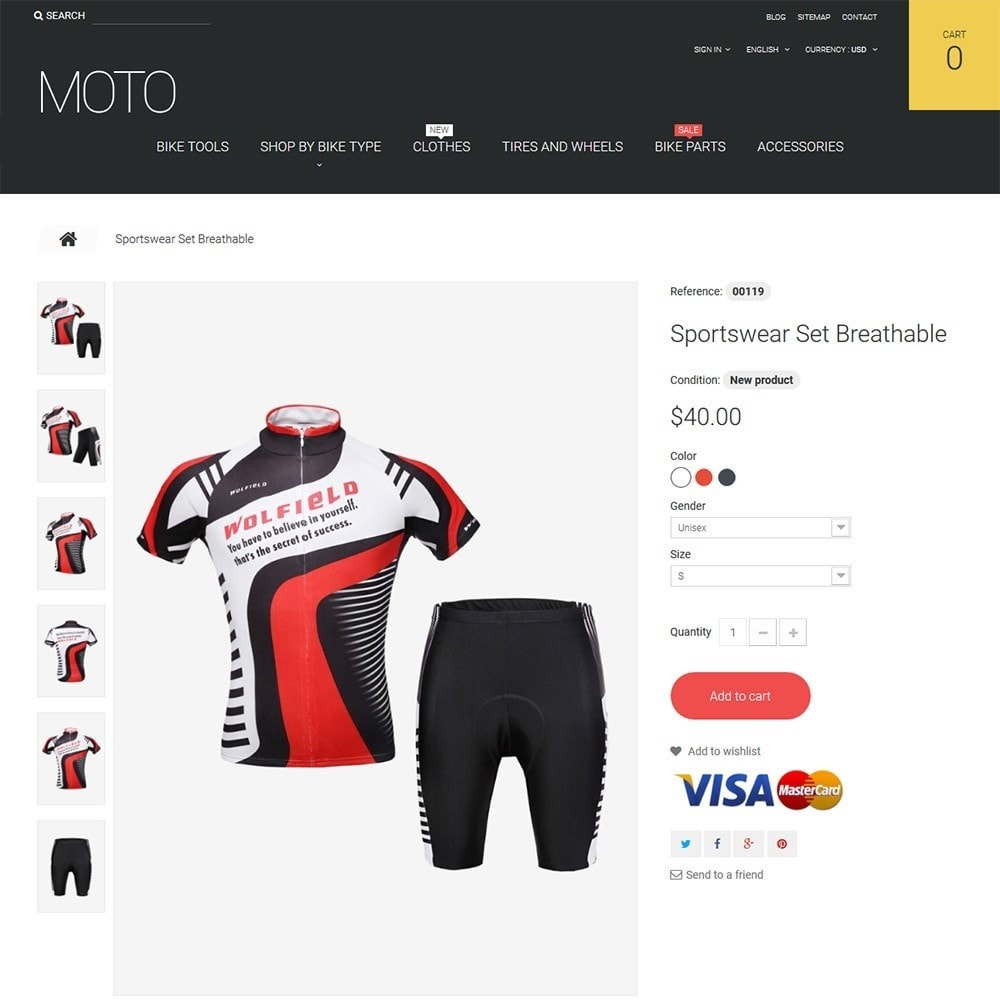 Moto - Bike Shop