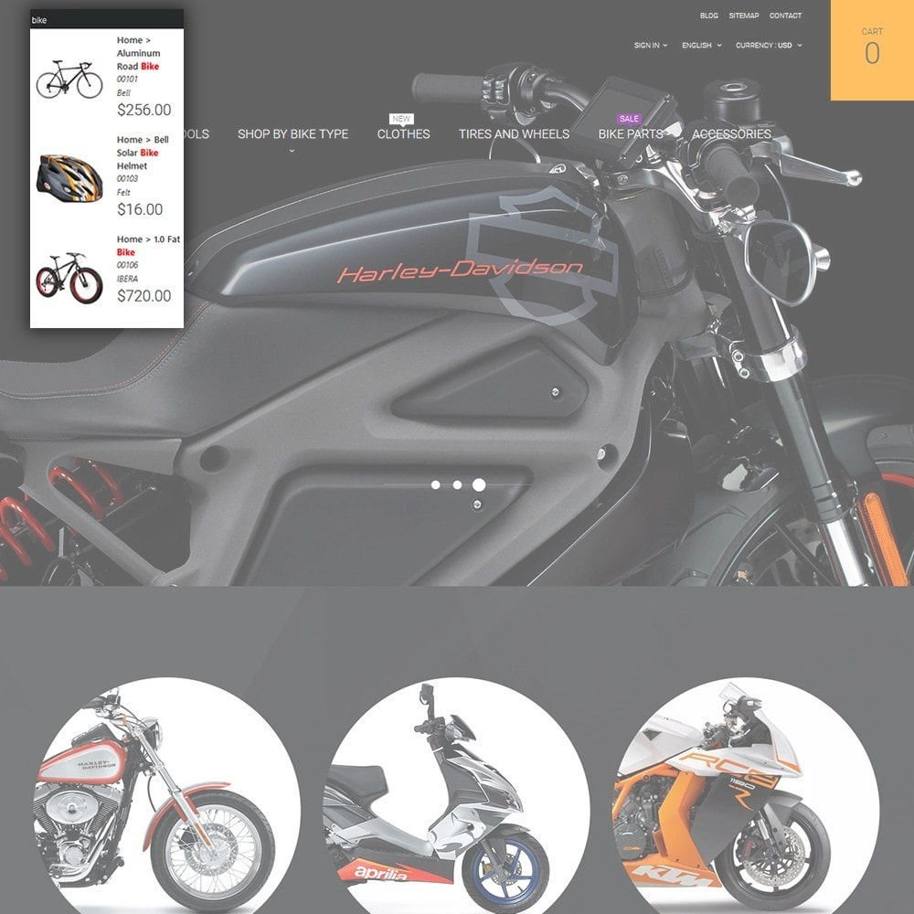 theme - Coches y Motos - Moto - Bike Shop - 6