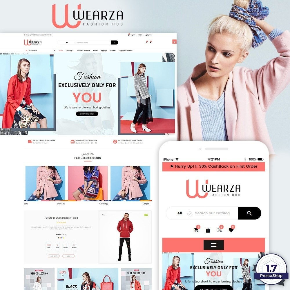 Wearza - Fashion and Big Super Store