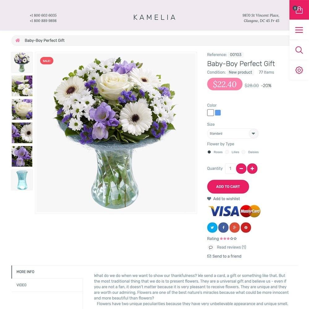 theme - Regalos, Flores y Celebraciones - Kamelia - 3