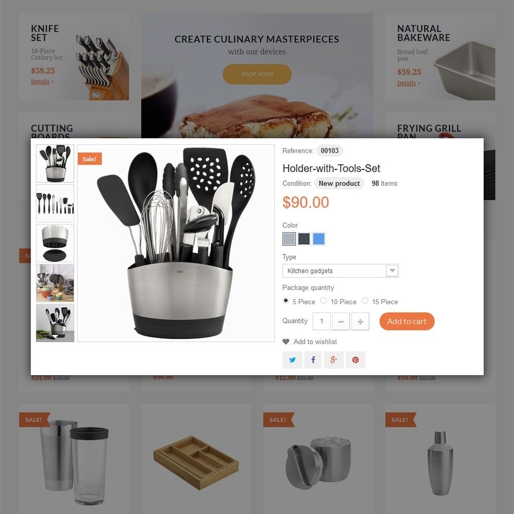 theme - Искусство и Культура - Kitchen Tools - 5