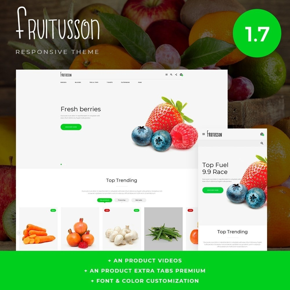 theme - Lebensmittel & Restaurants - Fruitusson - 1