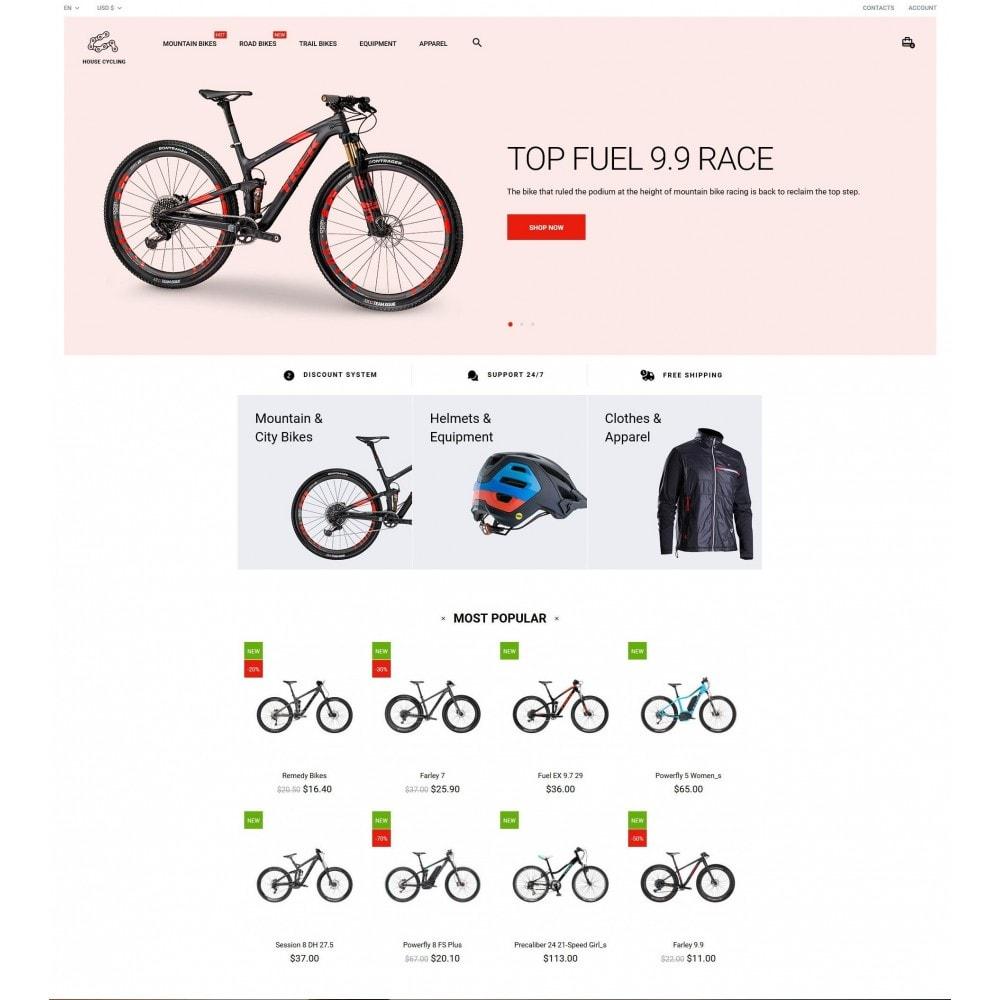 theme - Спорт и Путешествия - House Cycling - 2