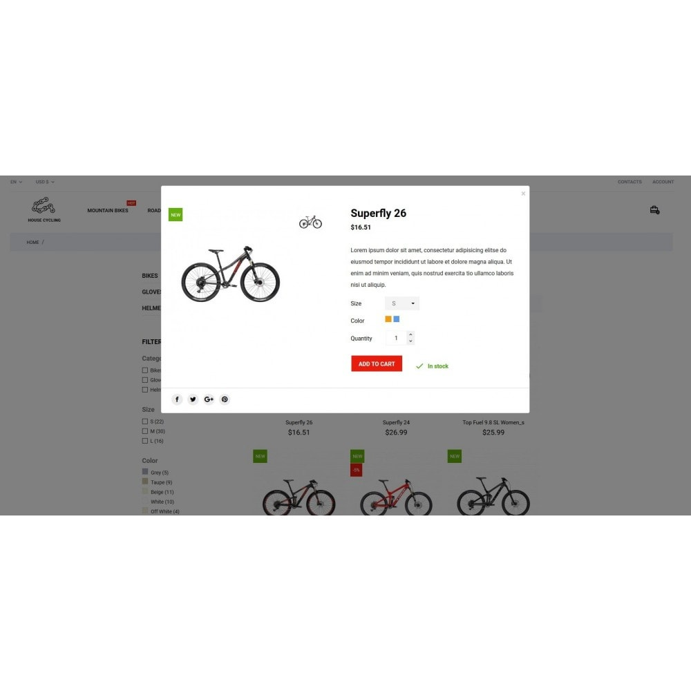 theme - Deportes, Actividades y Viajes - House Cycling - 4