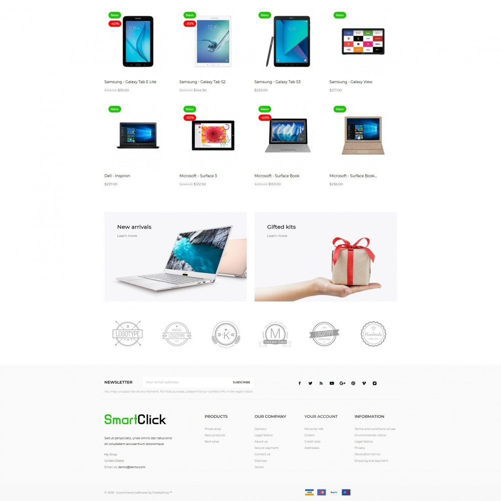 theme - Электроника и компьютеры - SmartClick - High-tech Shop - 3