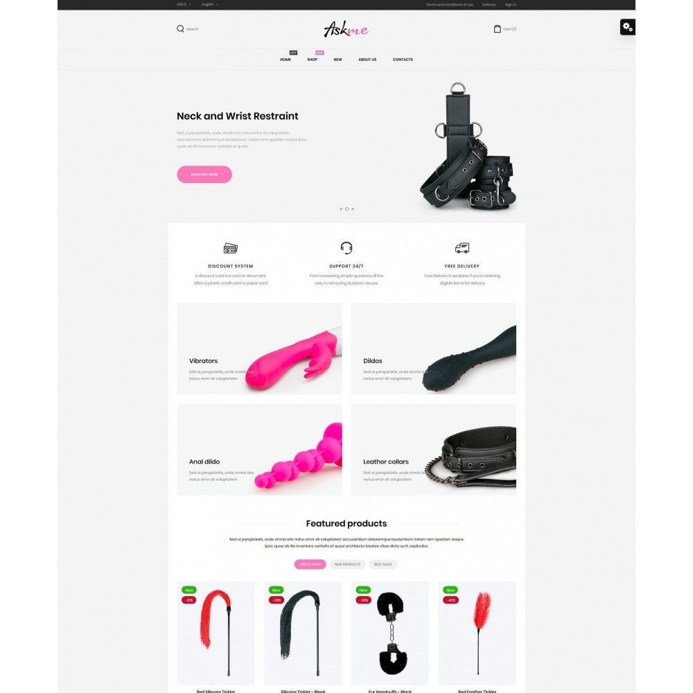 Askme - Sex Shop