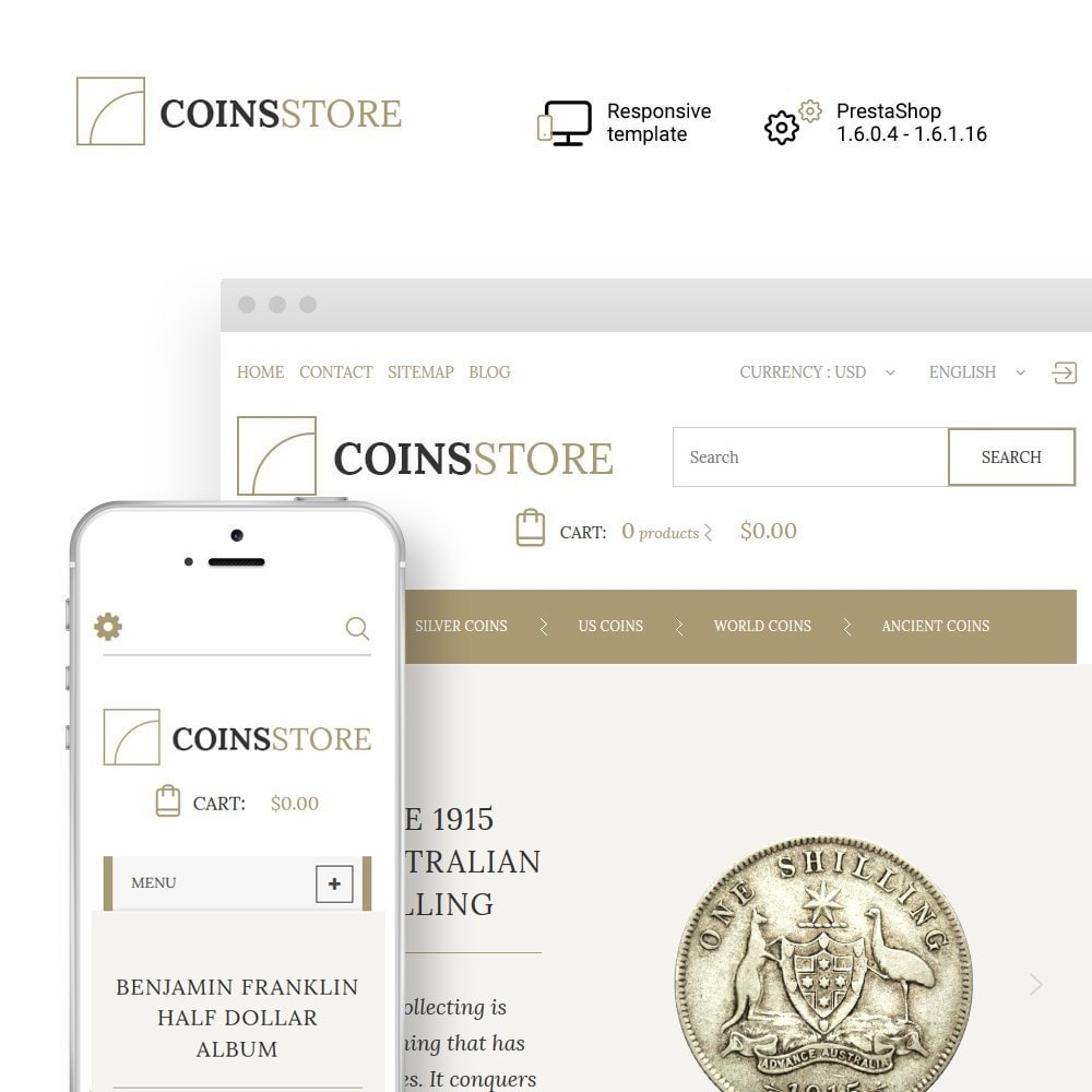 theme - Home & Garden - Coin Store - 1