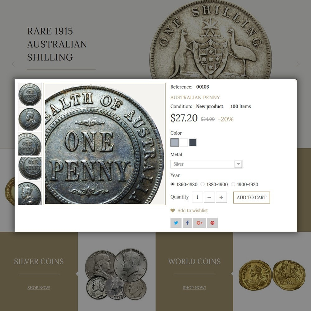 theme - Home & Garden - Coin Store - 4