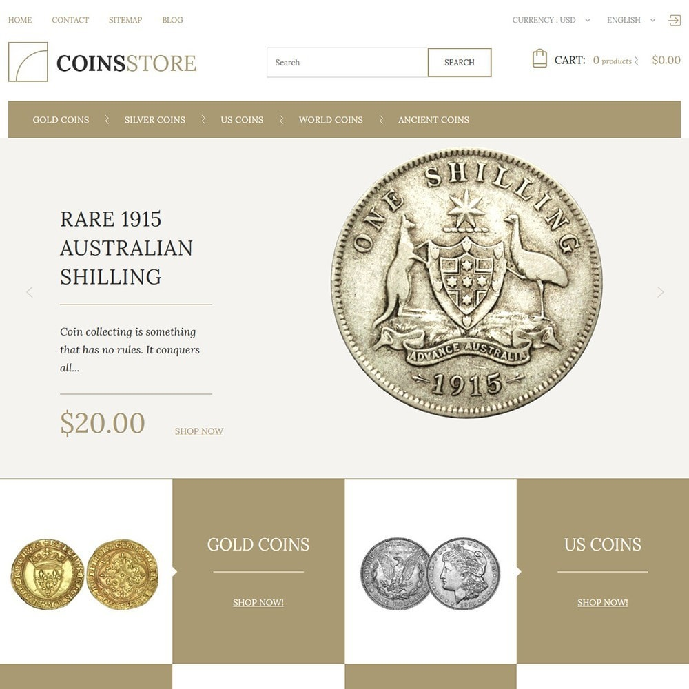 theme - Дом и сад - Coin Store - 2