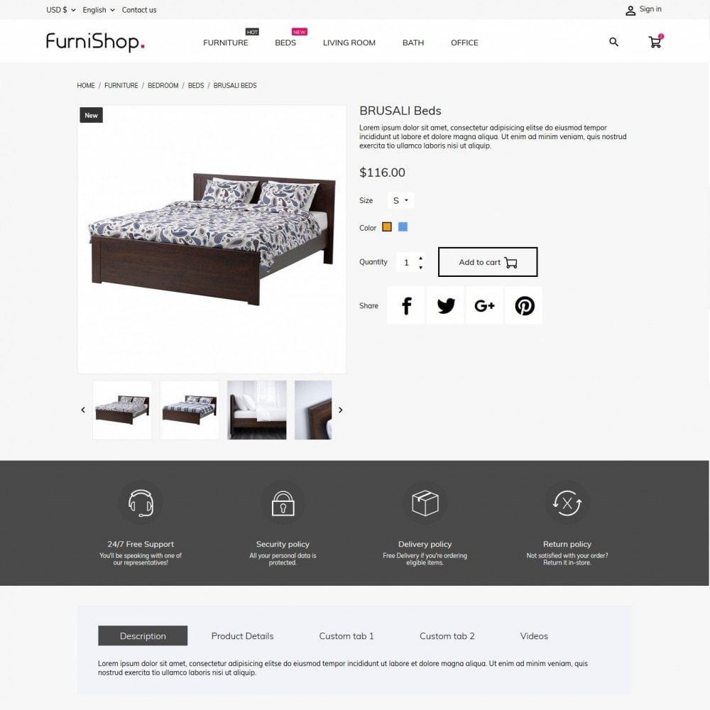 theme - Home & Garden - FurniShop - 6