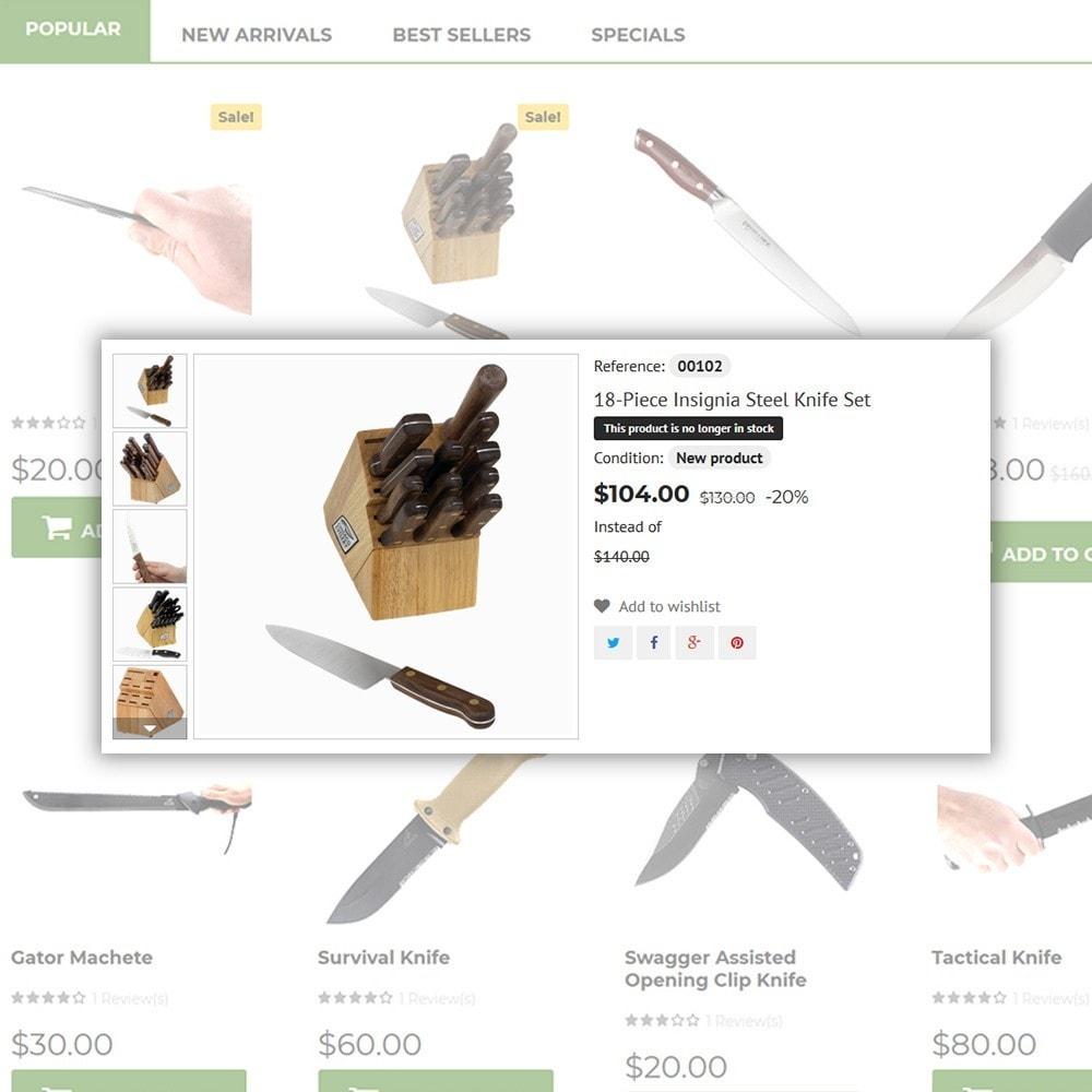 theme - Art & Culture - Knives - Housewares Store - 5