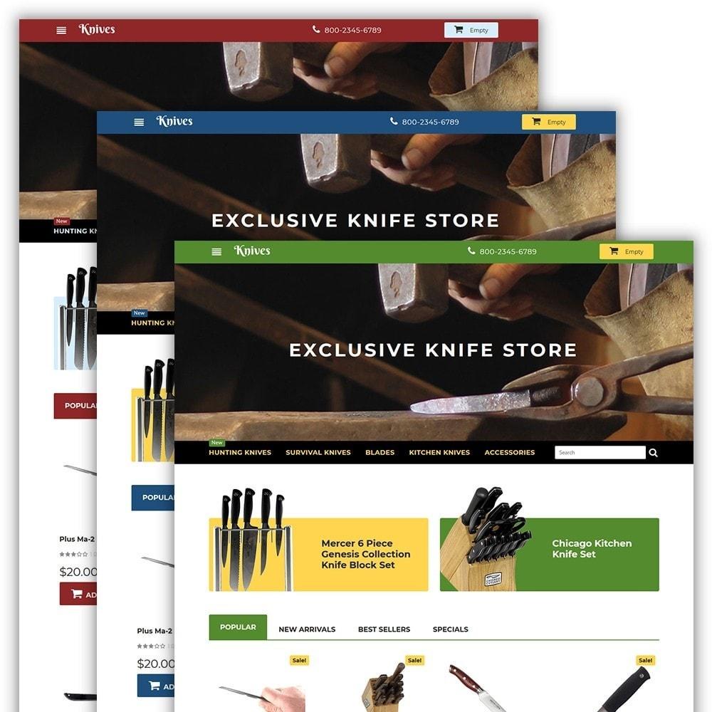 theme - Arte & Cultura - Knives - Housewares Store - 2