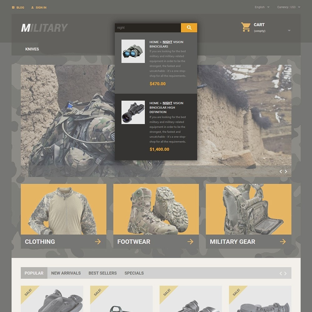 theme - Sport, Loisirs & Voyage - Military - 6