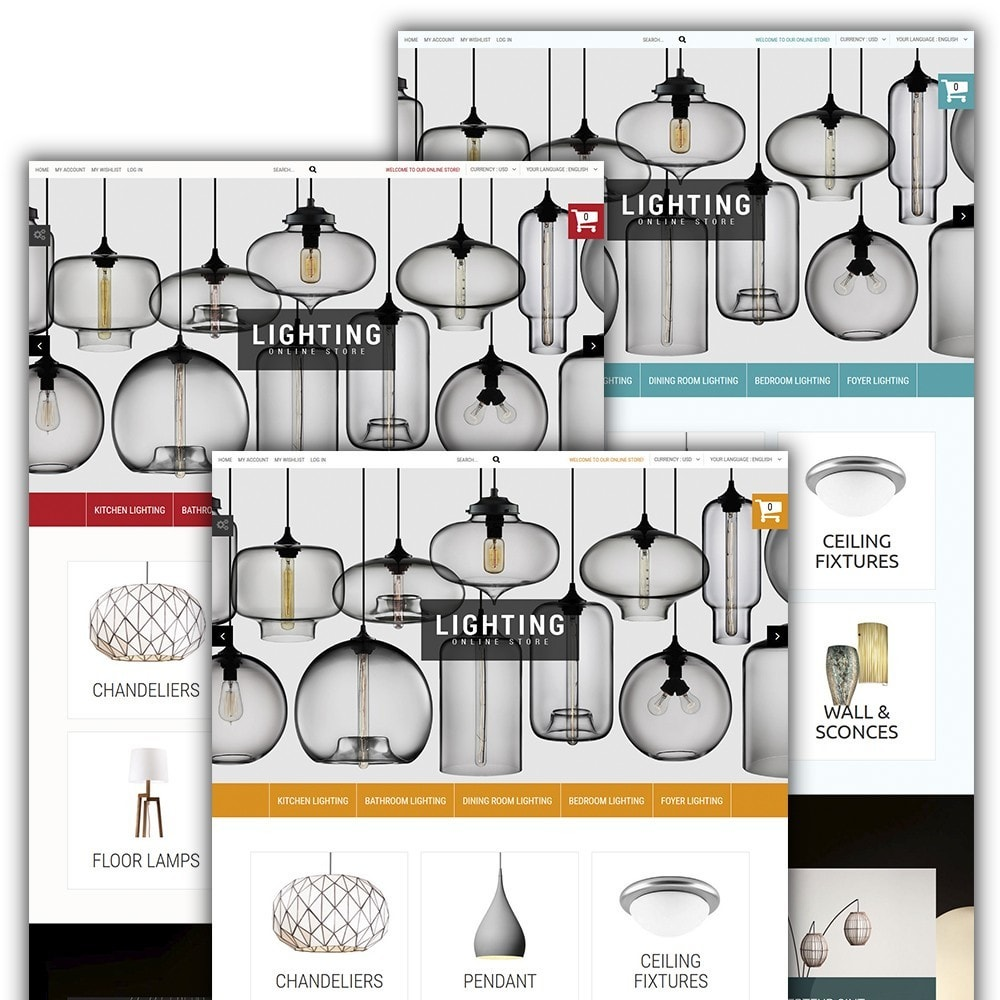 theme - Home & Garden - Lighting Online Store - Lighting & Electricity Store - 2