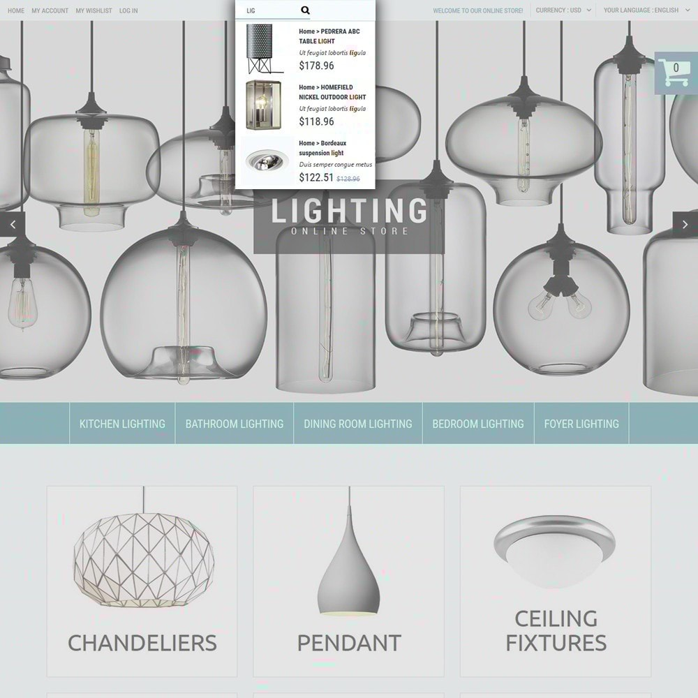 theme - Maison & Jardin - Lighting Online Store - Lighting & Electricity Store - 5