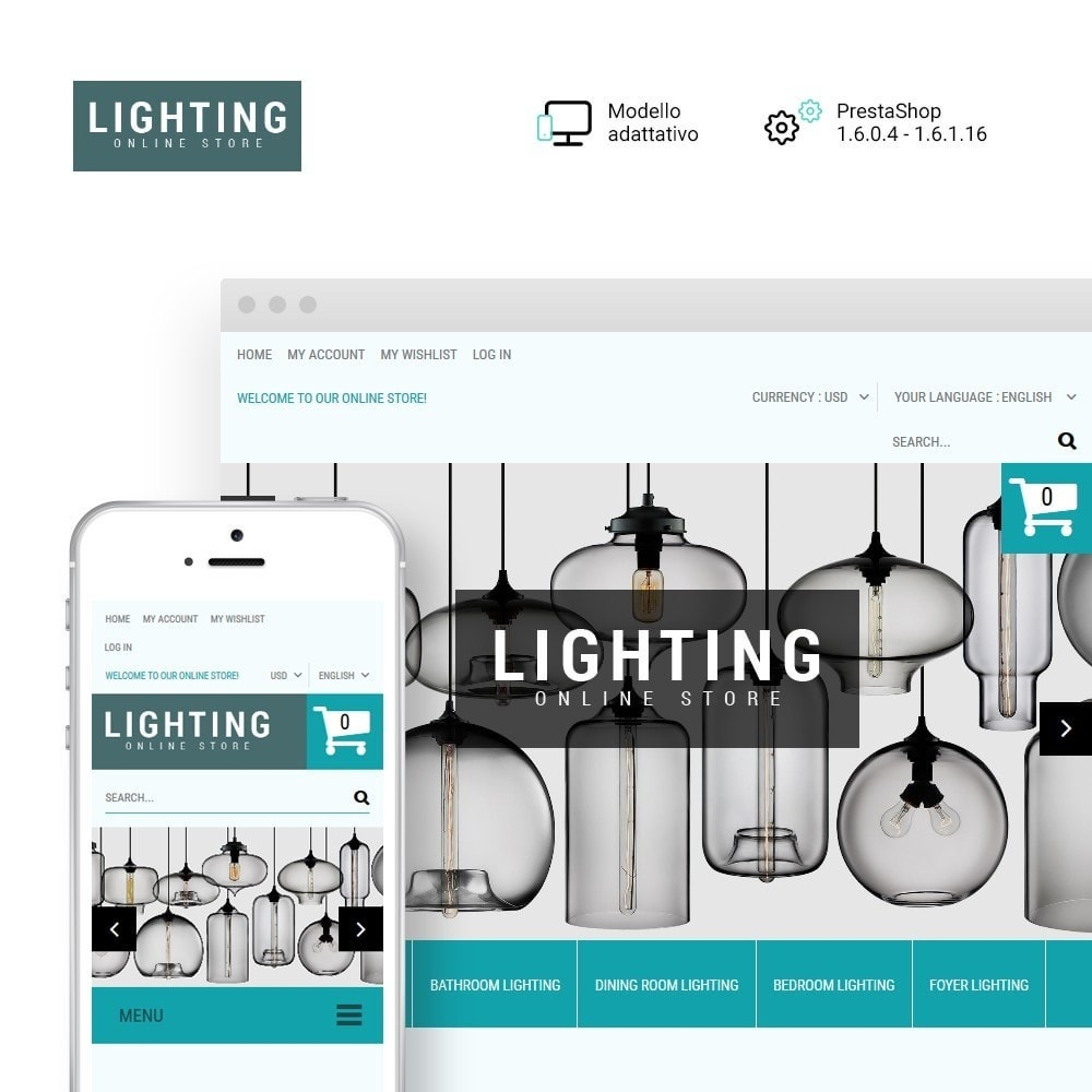 theme - Casa & Giardino - Lighting Online Store - Lighting & Electricity Store - 1