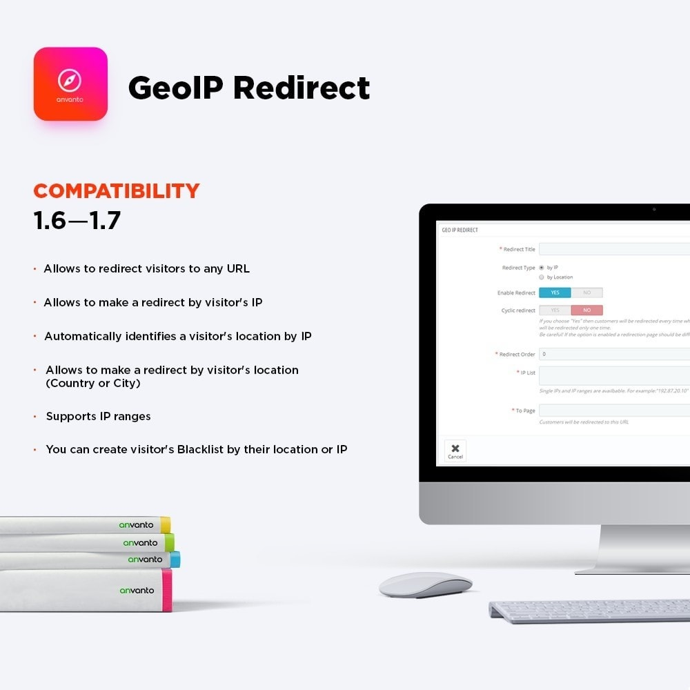 module - International & Localisation - GeoIP Redirect - 1