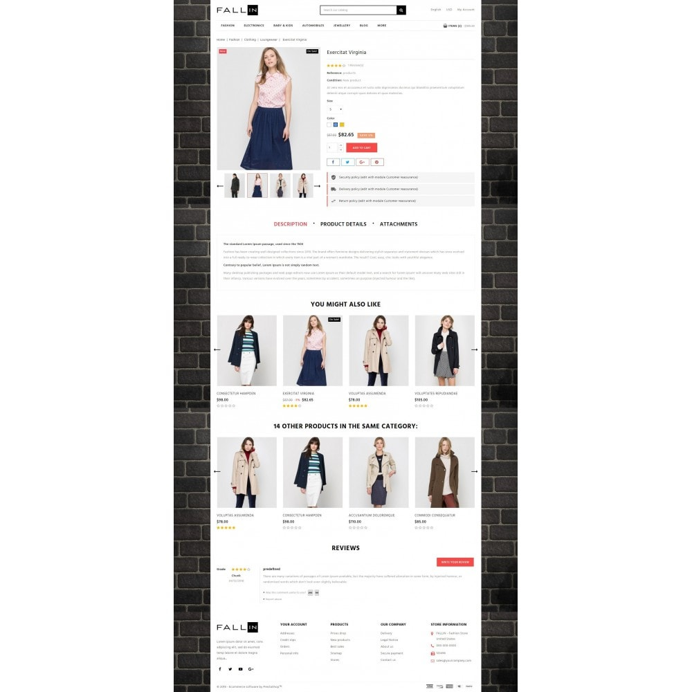 theme - Mode & Schoenen - Fallin Fashion Store - 5