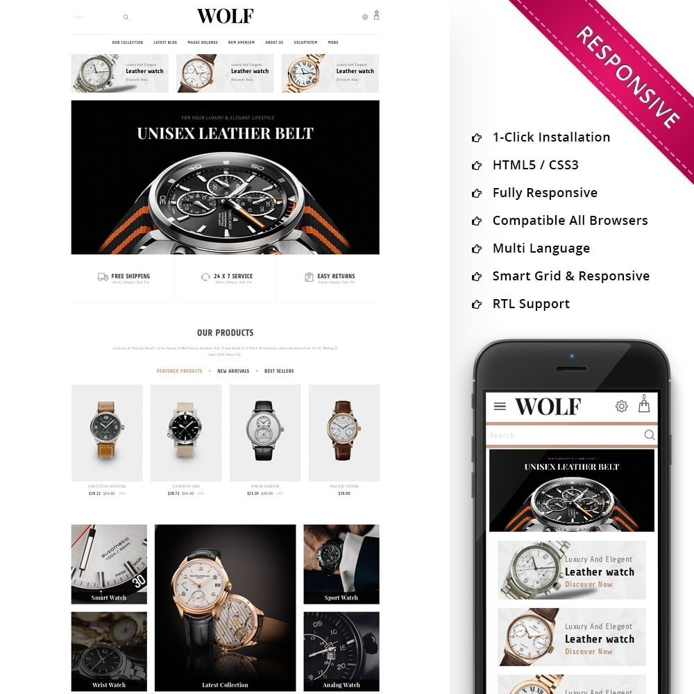 Wolf Watch Store