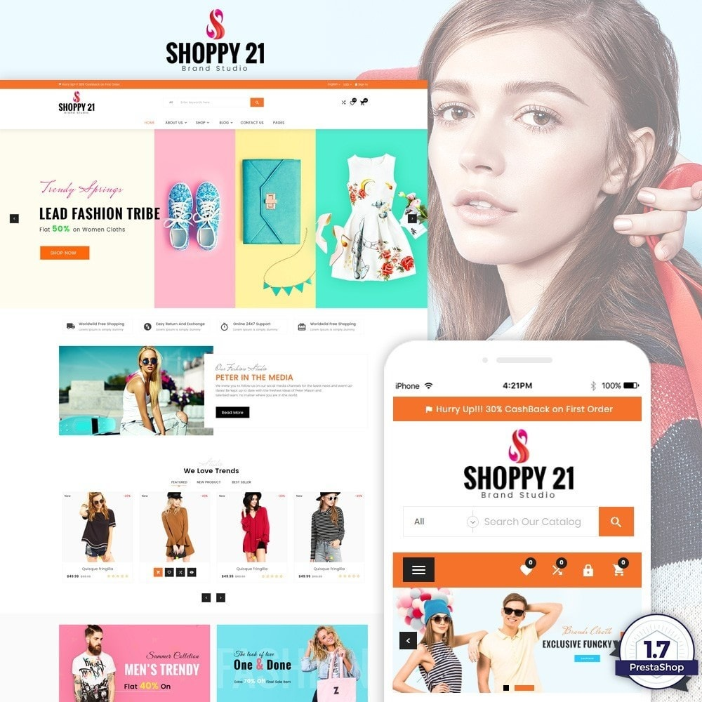 theme - Moda & Calzature - Shoppy21 – Fashion Super Big Store - 1