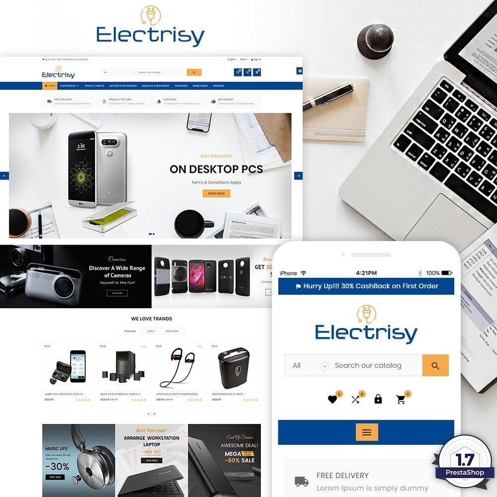 Electrisy – Electronic and Big Super Store
