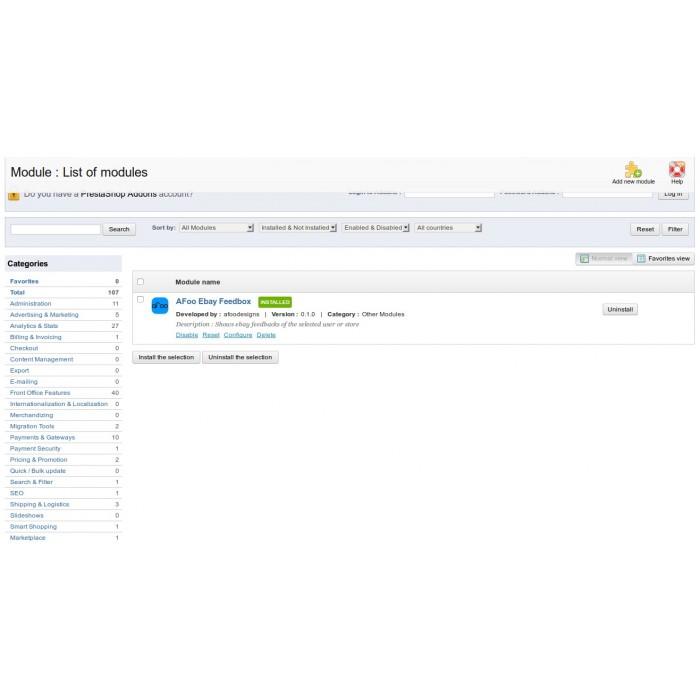 module - Opinie klientów - Ebay FeedBox - 4